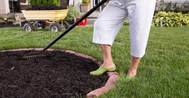 Cómo acolchar el jardín