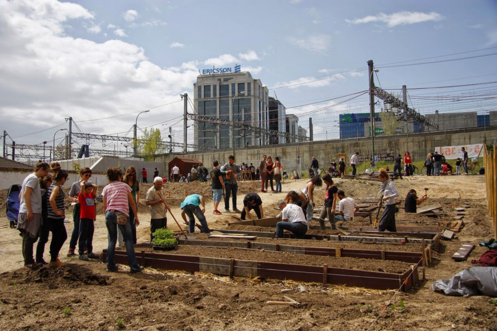Huerto urbano comunitario Adelfas