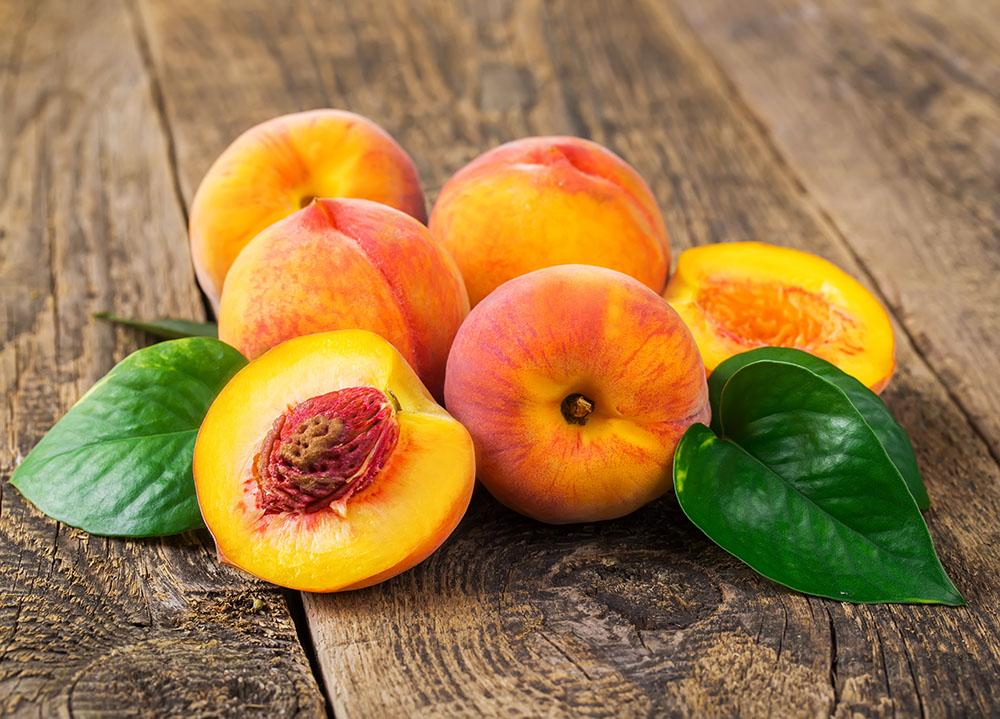 El melocotón es un fruto delicioso